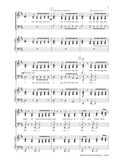 White Winter Hymnal White Winter Hymnal Pinterest Sheet Music