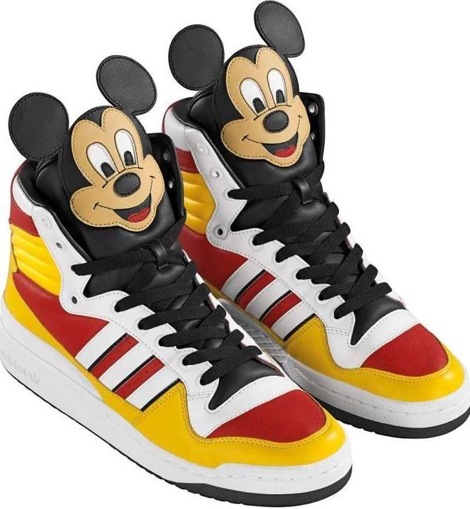 chaussures adidas femme avec mickey