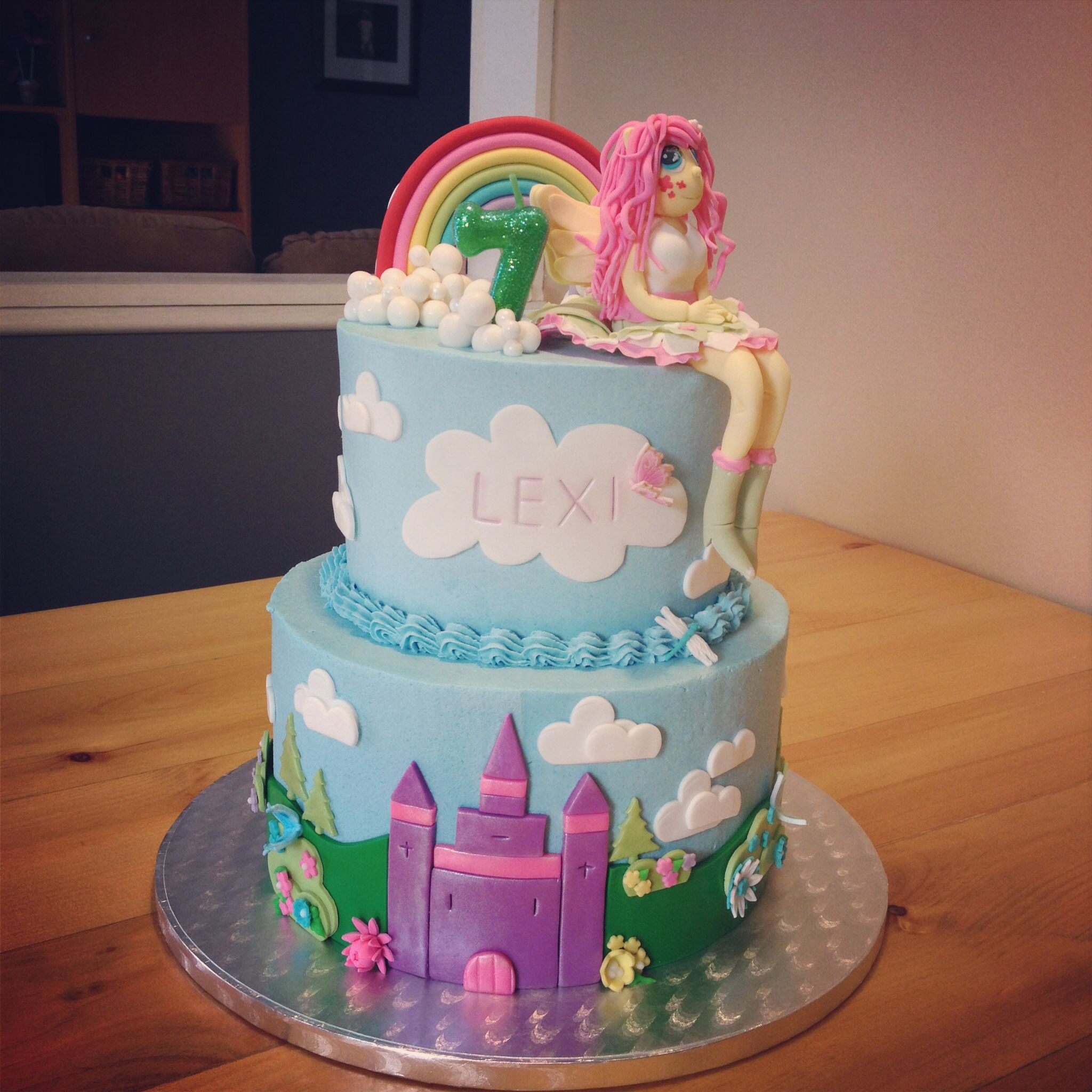 My Little Pony Equestria Girl Birthday Cake Kakes By
