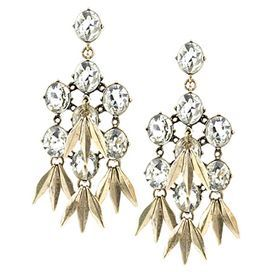 Firenze Earrings in Clear; $29.95