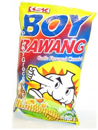 Boy Bawang Garlic Flavor This Is Called Cornick A Well Loved