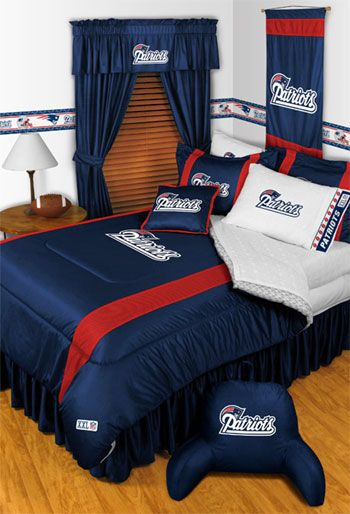 Nfl New England Patriots Bedding Set Full Double Size