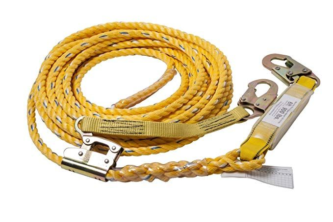 "Tough-1 Safety Shock Poly Bungee Cross Tie Braided Poly 5//8/"" Rope"