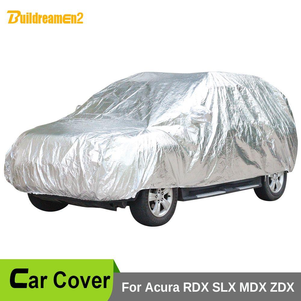 Buildreamen2 Car Cover Waterproof Thicken Cotton Sun Anti
