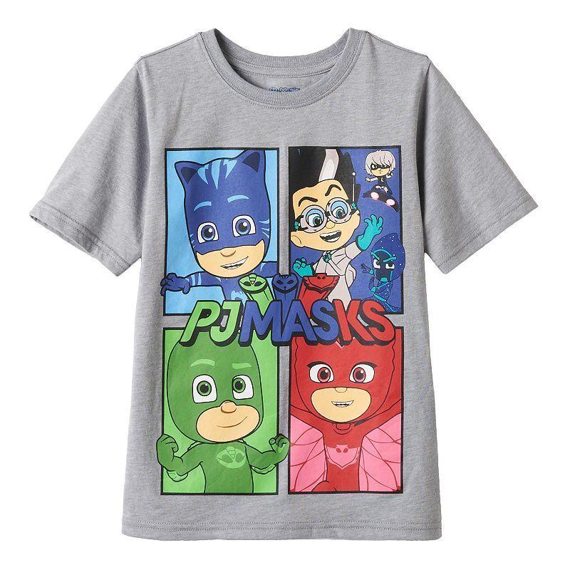 PJ Masks Boys Catboy Owlette Gekko Sweatshirt Size 7