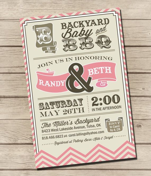 bbq baby shower Baby Shower Pinterest Babies, Babyshower and - baby shower agenda template