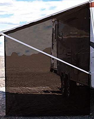 Tentproinc RV Awning Side Sun Shade 9'X7' Brown Mesh ...