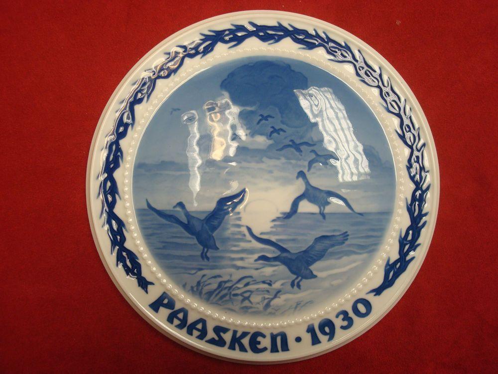 1930 Bing u0026 Grondahl Easter Paasken  Wild Geese  in Collectibles Decorative Collectibles & 1930 Bing u0026 Grondahl Easter Paasken