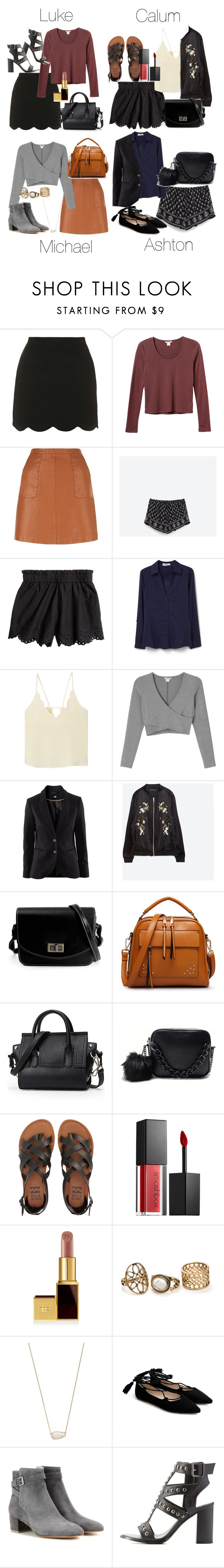 """""""Semi-Formal Post-Wedding Event Outfits"""" by fivesecondsofinspiration ❤ liked on Polyvore featuring Topshop, Monki, New Look, MANGO, Chicnova Fashion, Zara, Billabong, Smashbox, Kendra Scott and Gianvito Rossi"""