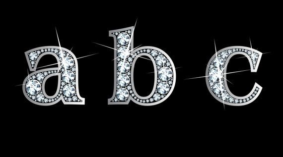 Ao Lower Case In Diamond Bling Font Png With By Spaynedigital 12 00 Monogram Painting Text Art Alphabet Capital Letters