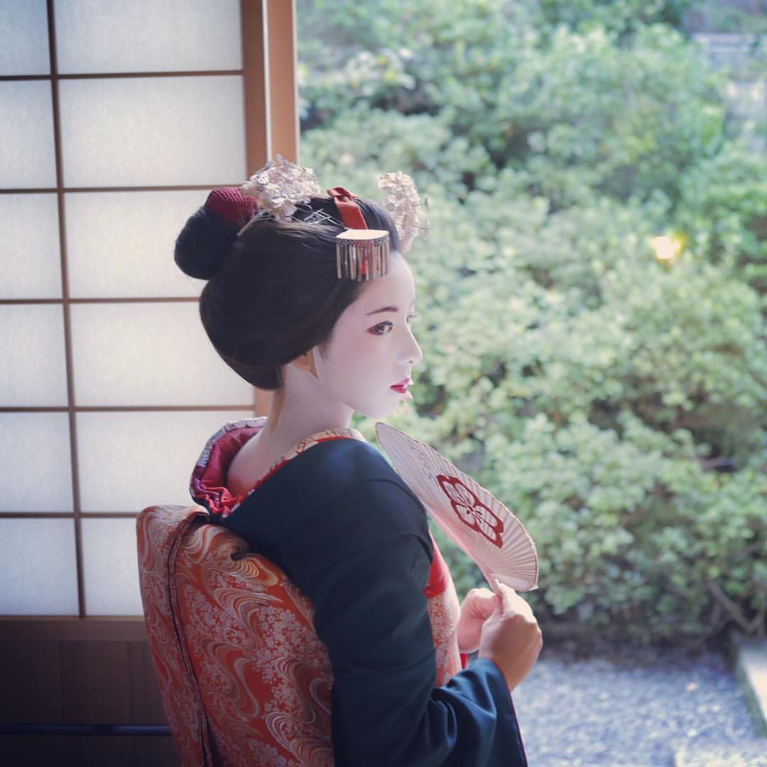 Maiko Henshin Shiki Yukata Kimono Yukata Japan