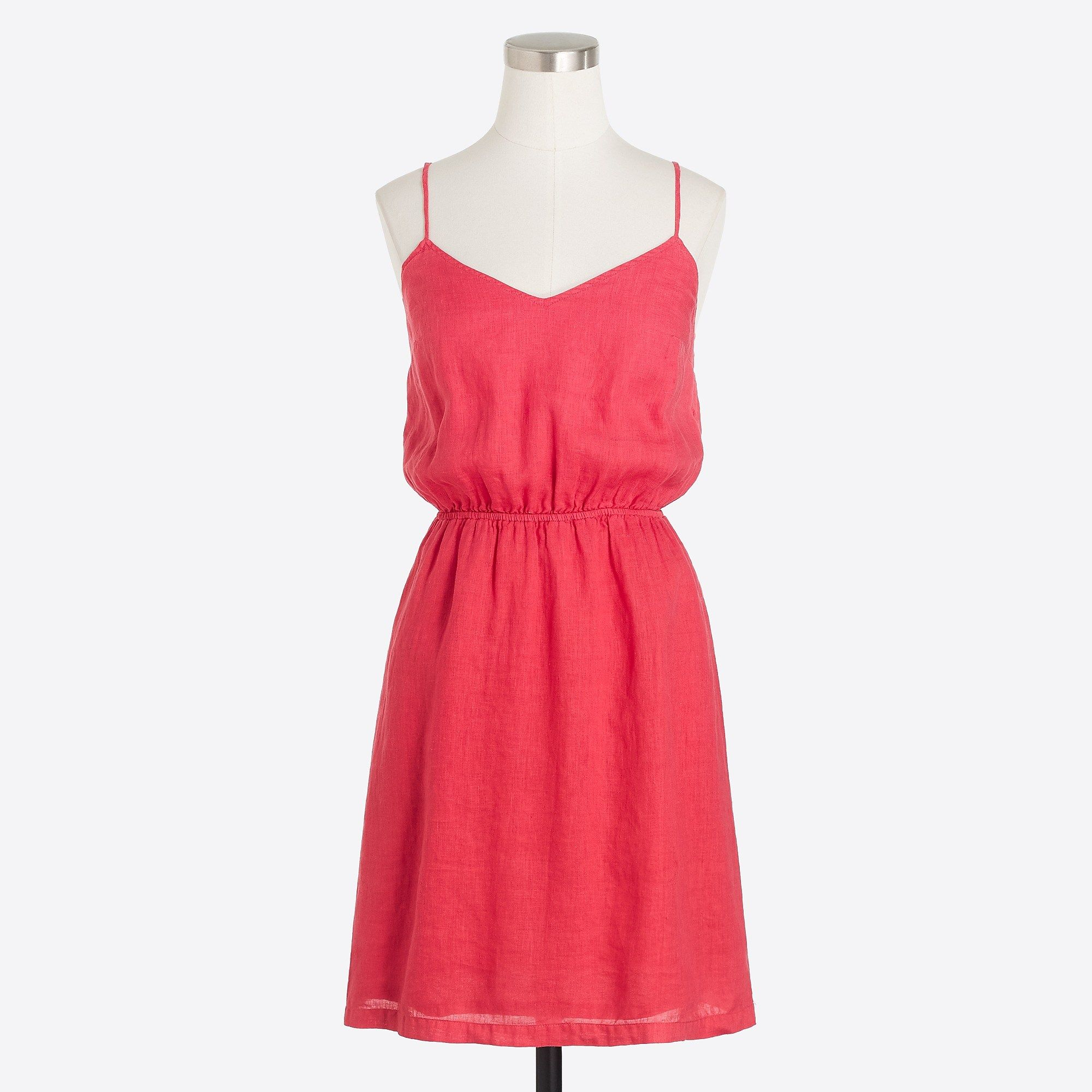 j crew linen cami dress cami dress casual dresses on cheap insulated coveralls for men id=89539