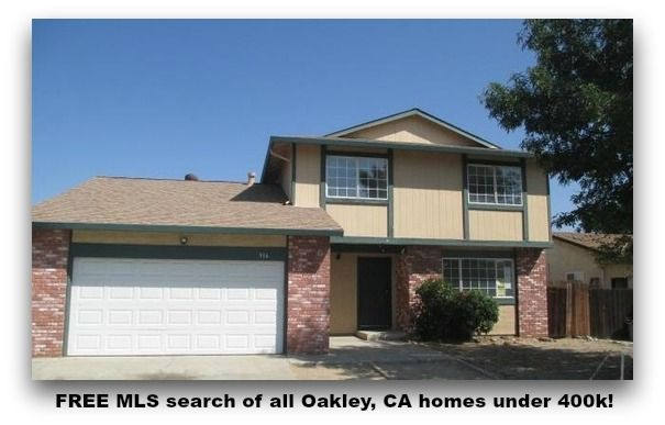 Free Mls Search Of All Oakley Ca Homes Under 400k Mls Search