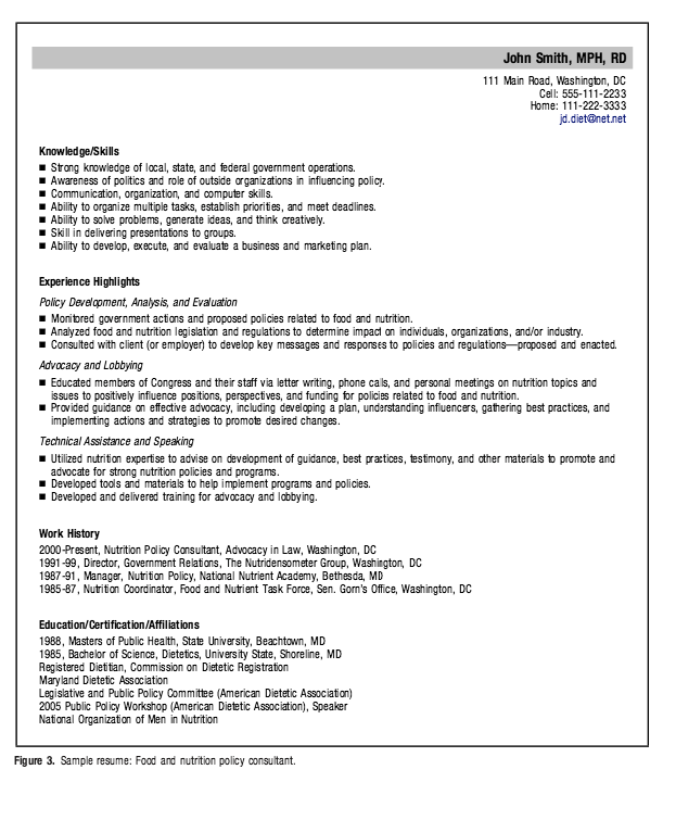 Clinical Dietitian Consultant Resume Example Resumesdesign Resume Examples Resume Downloadable Resume Template
