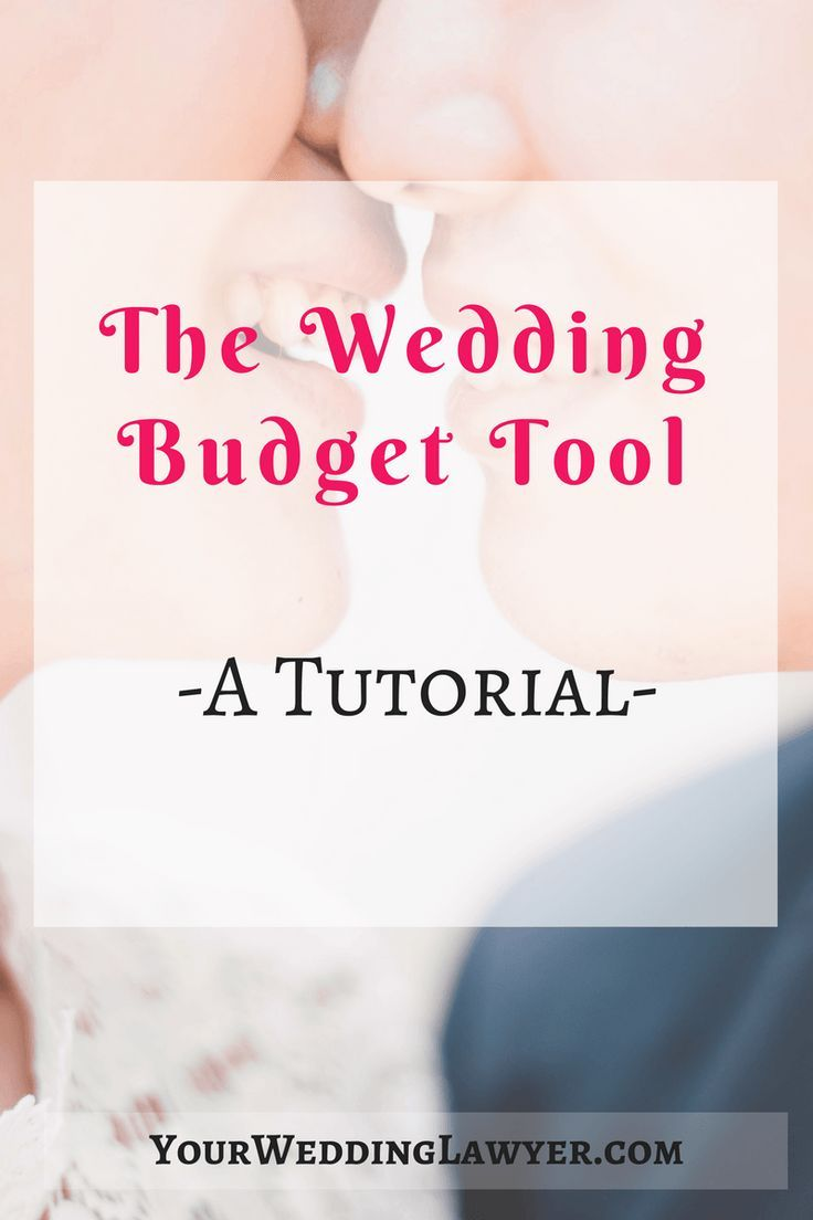 Wedding Budget Planner Breakdown