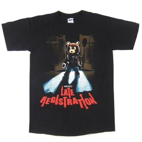 Vintage Kanye West Late Registration Tour T Shirt Tour T Shirts Shirts T Shirt