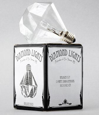 Diamond Lights van de Zweedse designer Eric Thener