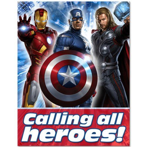 Save $2.20 on The Avengers Party Invitations (8 ct); only $1.99