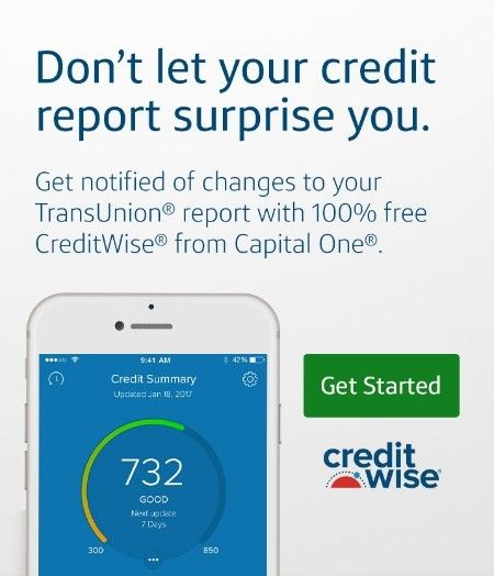 Don T Let Your Credit Report Surprise You Get Notified Of Changes To Your Transunion Report With 100 Free Cre Capital One Credit Card Capital One Fast Money