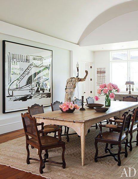 Cribs: Ellen DeGeneres e Portia De Rossi   Dining Rooms and Eating ...
