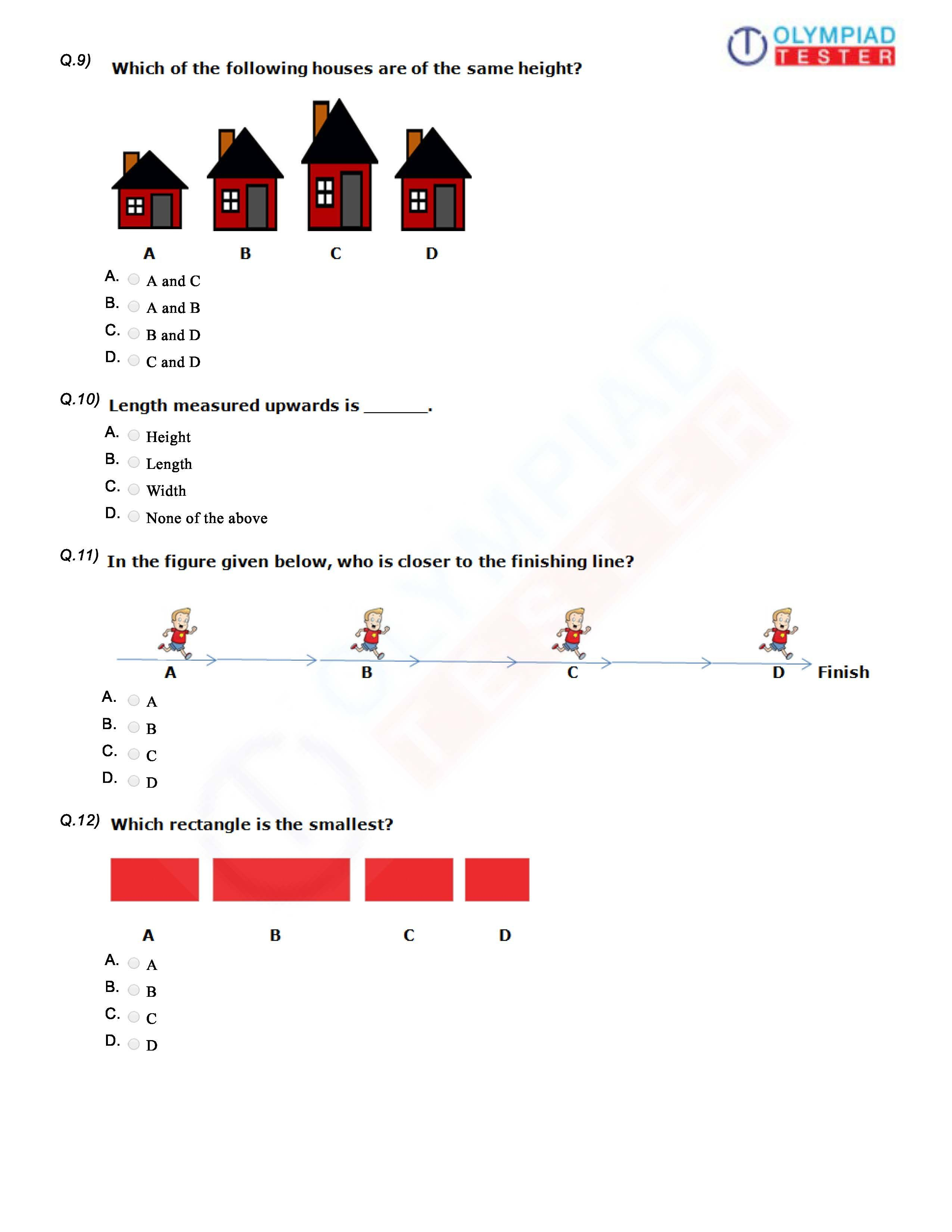 Download Cbse Class 1 Worksheet Sample Paper On The
