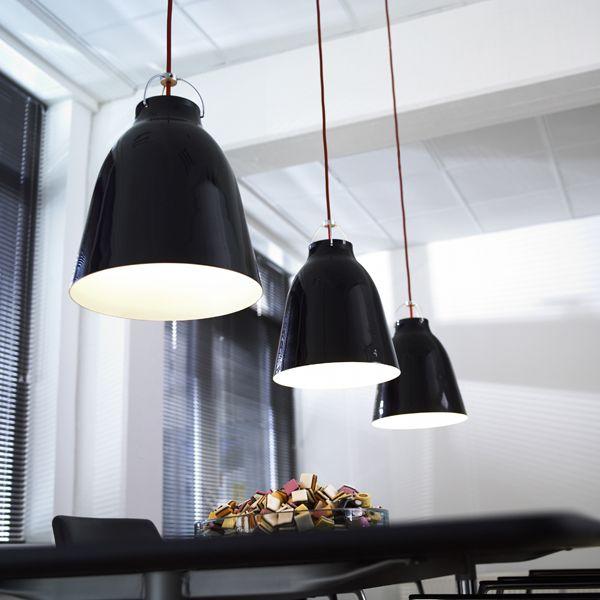 Caravaggio P3 Lamp Black Pendant Light Pendant Lamp Caravaggio