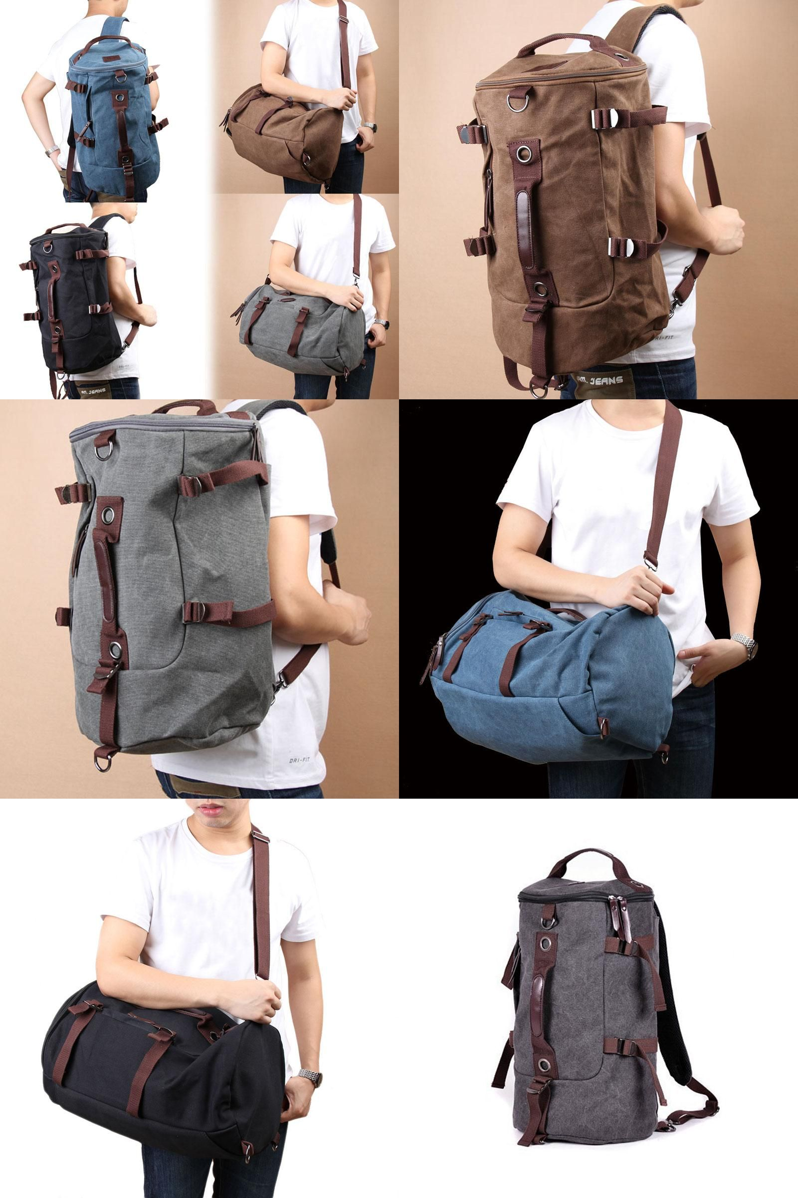 964add7d66a5  Visit to Buy  Hiking Bag Camping Bags Large Capacity Outdoor Vintage Style Canvas  Backpack