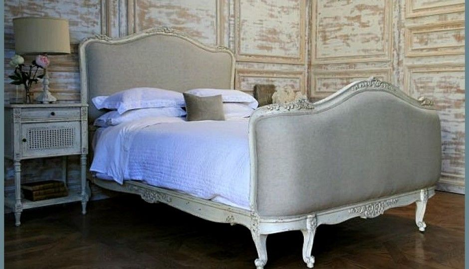 10 camas tapizadas estilo luis XV / 10 Louis XV upholstered beds ...