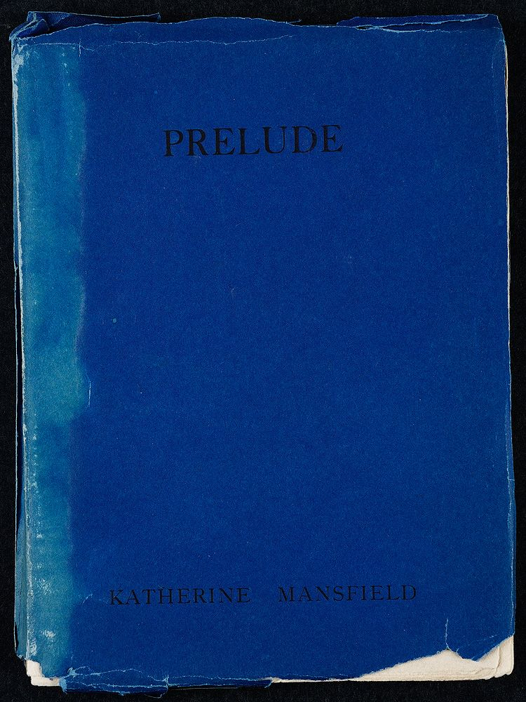 Virginia and Leonard published Katherine Mansfield's Prelude in 1918, now considered a classic.