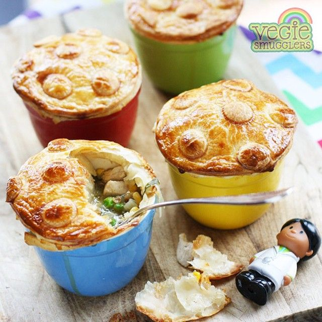 Chicken Pox Pies Recipe On The Blog Vegiesmugglers Mushrooms
