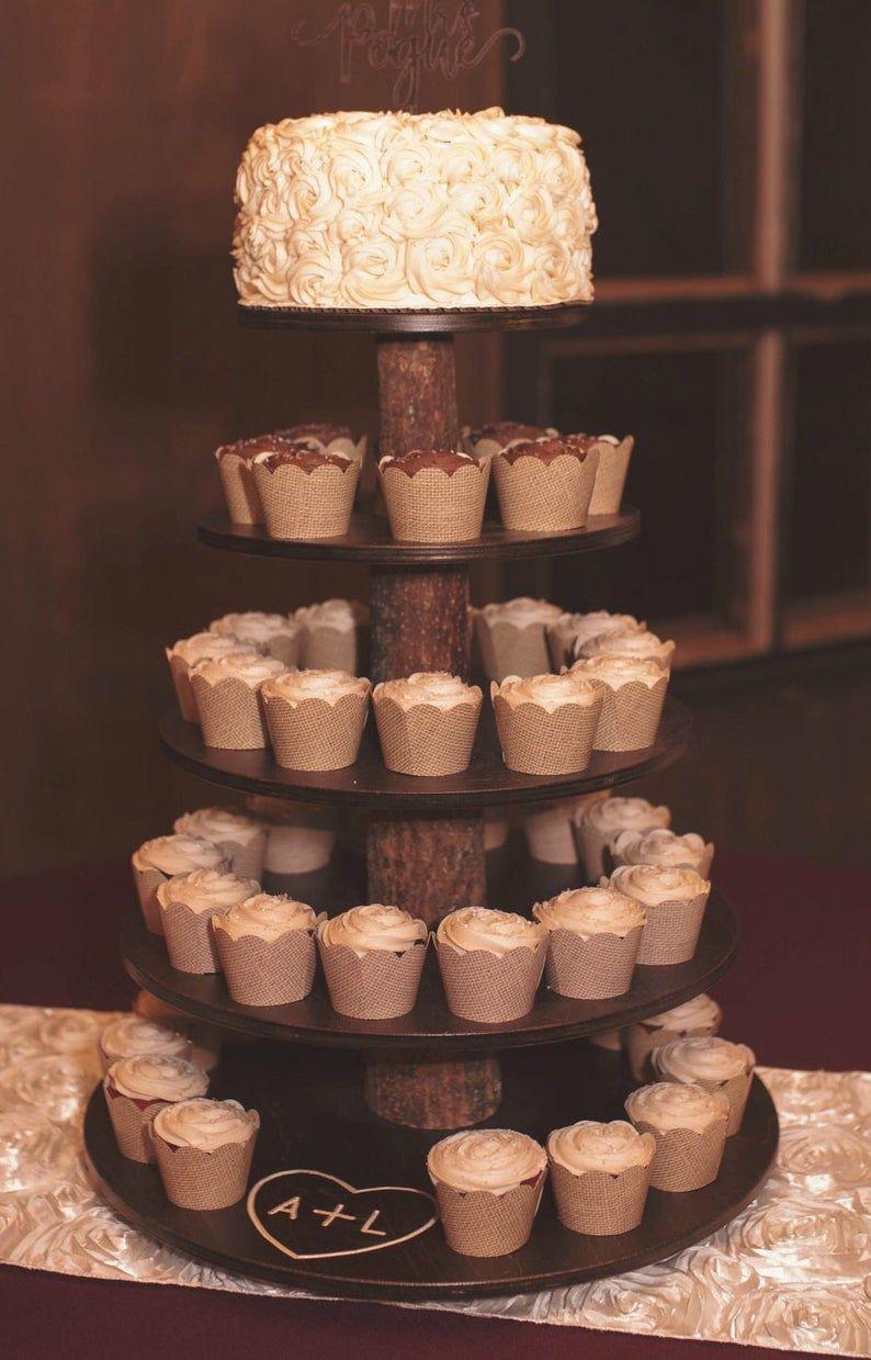 27+ Wedding cupcake stand wooden info