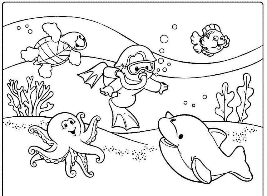 14 Lukisan Pemandangan Alam Yang Belum Diwarnai 200 Gambar Mewarnai Yang Bagus Mudah Untuk Anak Anak Download 25 Sk Di 2020 Halaman Mewarnai Gambar Buku Mewarnai