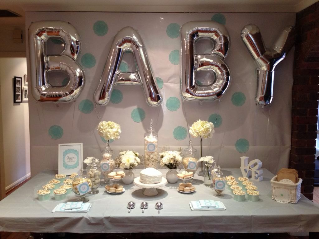 Best 25 baby shower backdrop ideas on pinterest pink for Baby shower at home decorations