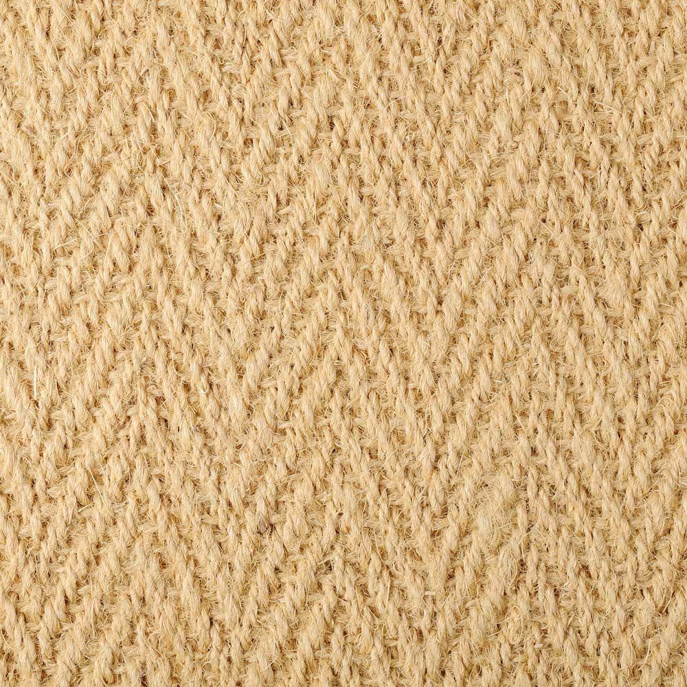 Best Bleached Coir Herringbone Natural Floorings 17 80 M2 400 x 300