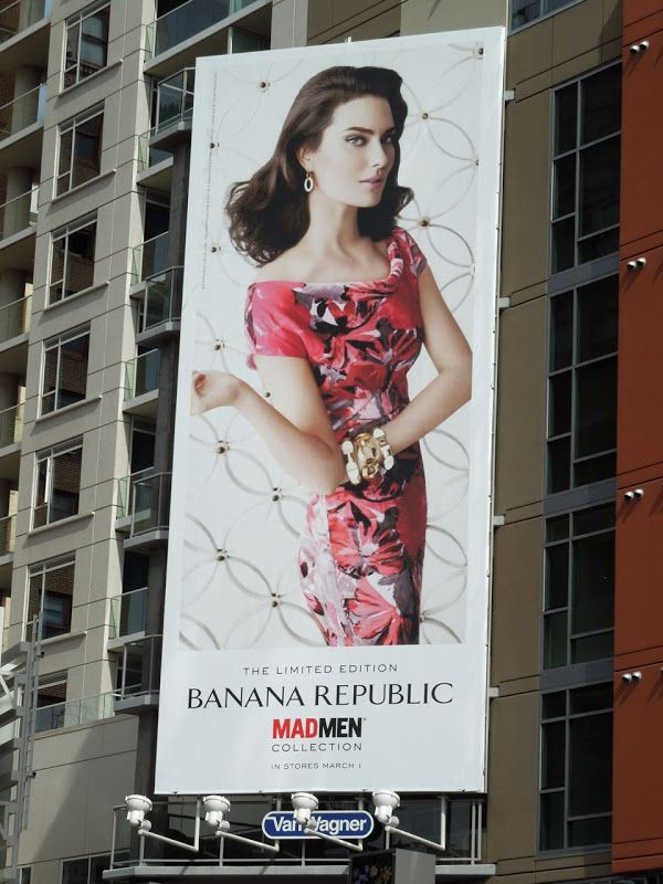 Newscaster showing banana republic ad glamour september picture girls