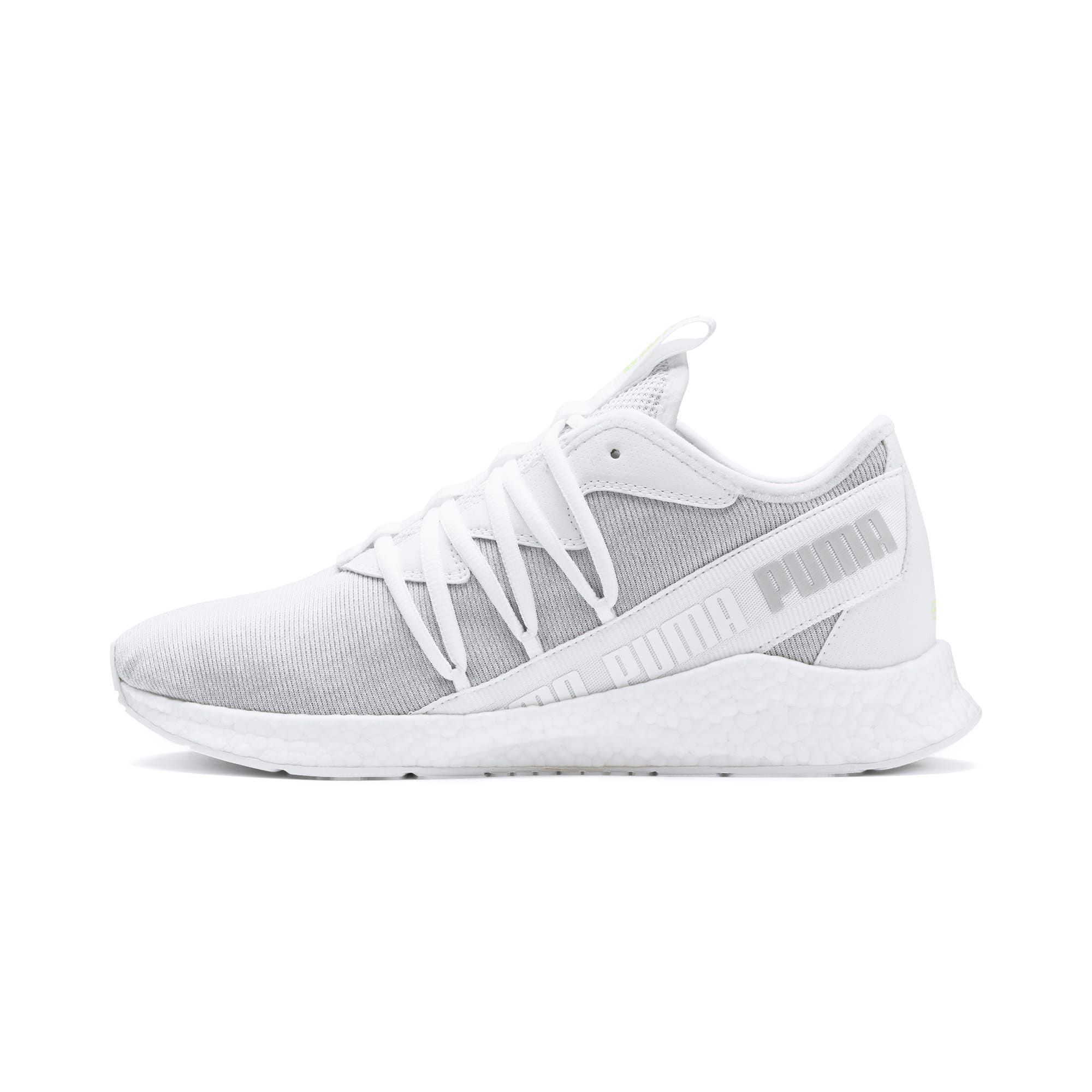 PUMA NRGY Star Knit Trainers in White