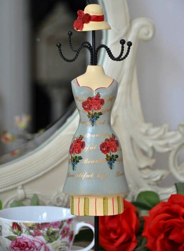 haute decor | Haute Couture - Wieszak Na Biżuterię - ArtDecor24