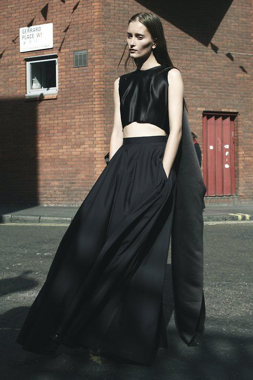 [] Unpublished photo of Iekeliene Stange for Yang Li SS13