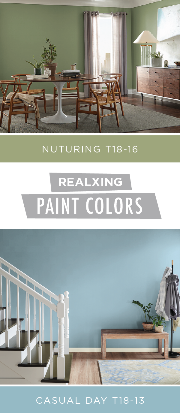 Wonderful Add A Calming, Relaxing Style To Your Home With The Help Of BEHR Paint In  Nurturing And Casual Day. These Peaceful Shades Are From The BEHR 2018  Color ...
