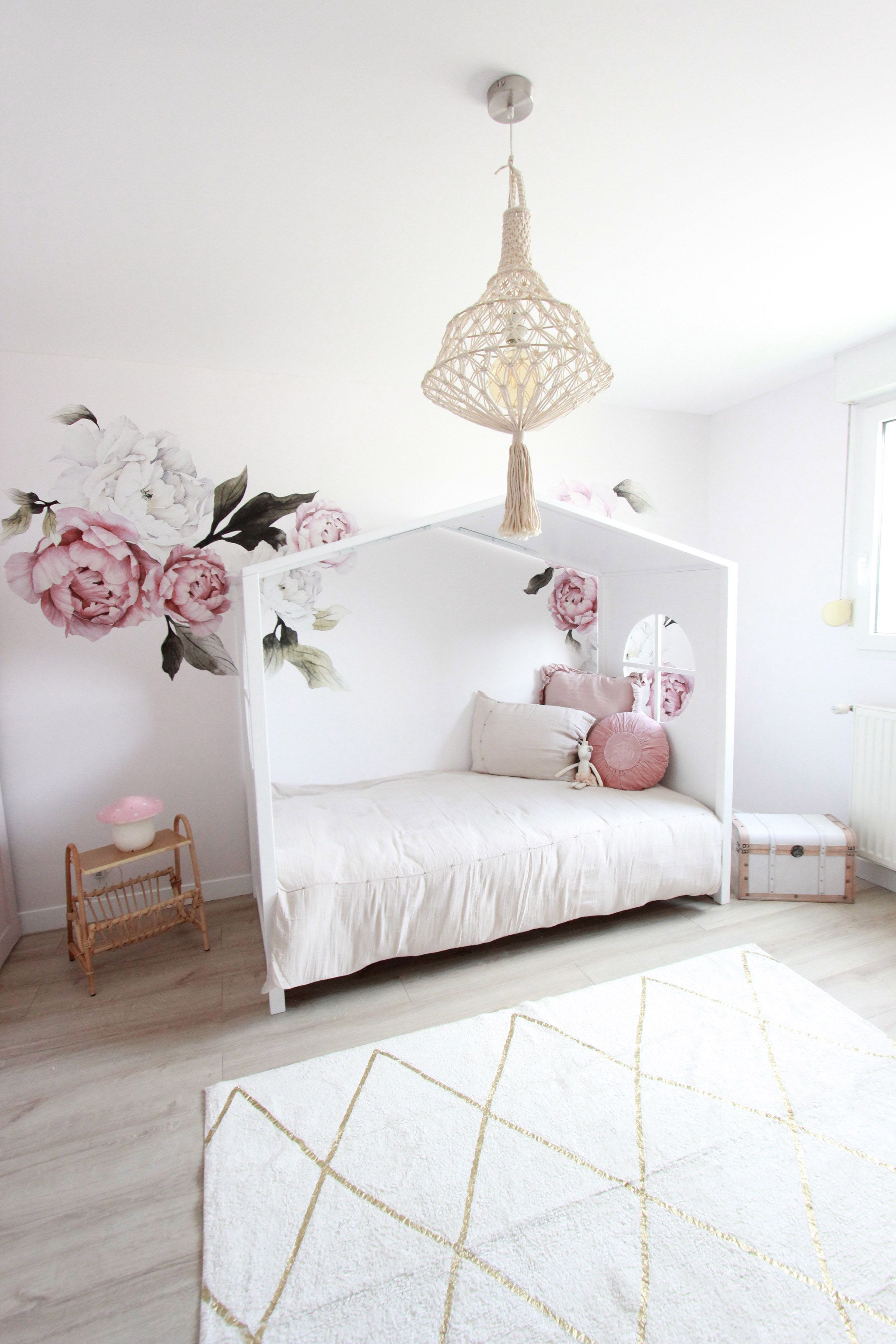 Room Tour Featuring The Blushing Peonies Simple Room Kid Room