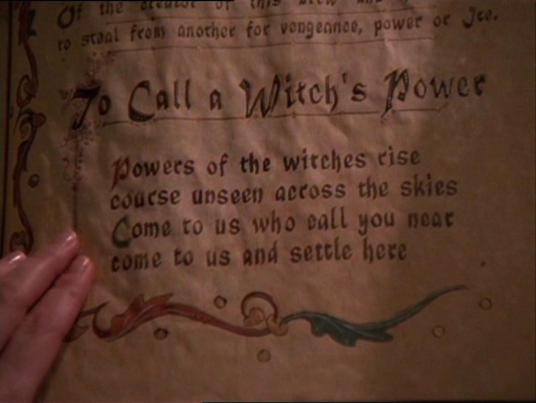 Power witchcraft witch powers charmed book of shadows