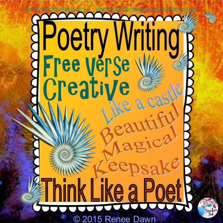 Poetry Writing Free Verse Creative Writers
