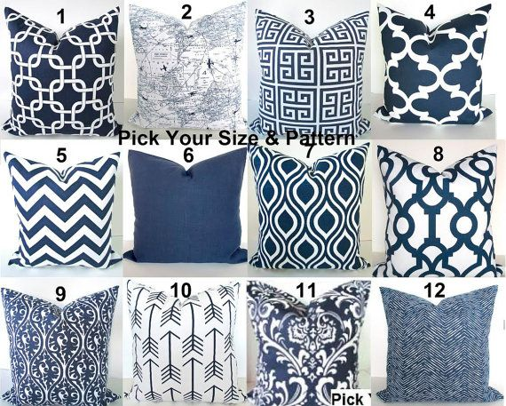 Blue Throw Pillows Navy Blue Throw Pillows Blue Pillow Dark Blue Decorative Throw Pillow Covers All Siz Blue Throw Pillows Dark Blue Throw Pillows Blue Pillows