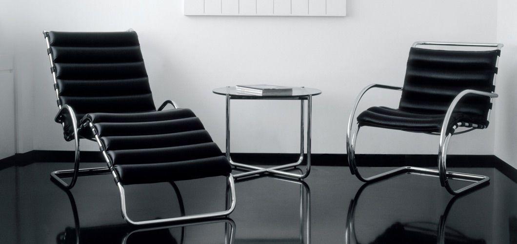 Ludwig Mies Van Der Rohe Bauhaus Design Bauhaus Interior Contemporary Lounge Chair Mies Van Der Rohe