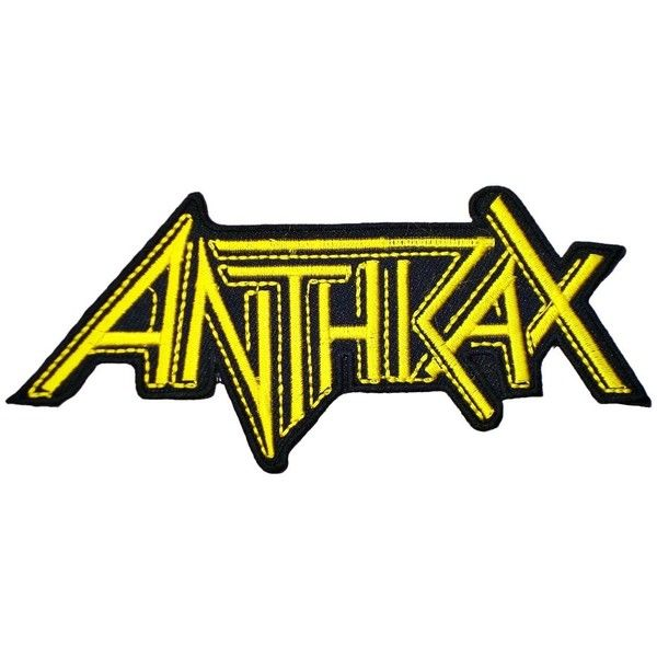 anthrax band t shirts logo ma22 embroidery iron on patches 3 35 rh pinterest co uk Metallica Band Logo Metallica Band Logo
