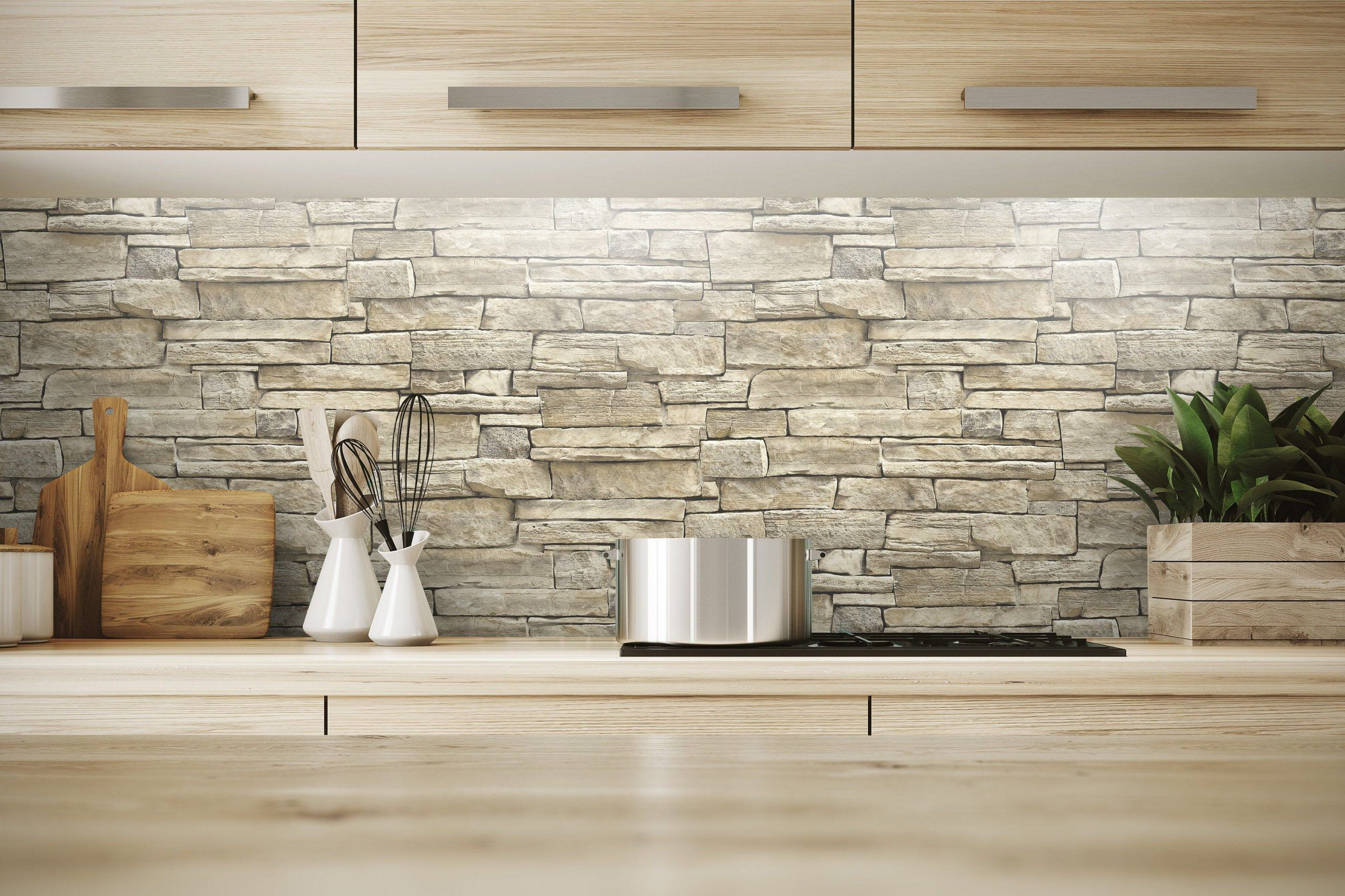 Gray Brick Peel And Stick Wallpaper Bathroom Waterproof Kitchen Backsplash Washable Self Adhesiv In 2020 Peel And Stick Wallpaper Kitchen Wallpaper Peel And Stick Wood