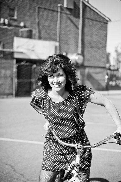 Smiles on the bike. Disco fever shoot with @SESSION NINE. #styling #flashback #vintage