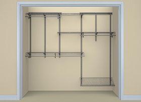 ShelfTrack 5   8 Ft. Adjustable Organizer Kit