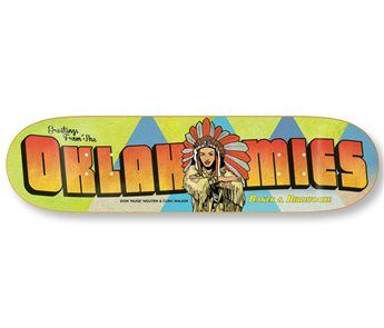 "Baker Oaklahomies Relief Deck 8""X31.75"" > Decks 