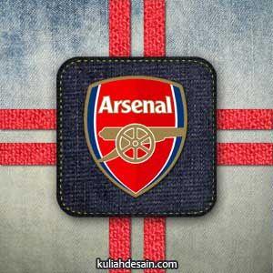 Koleksi Gambar Arsenal Logo Sepak Bola Pinterest